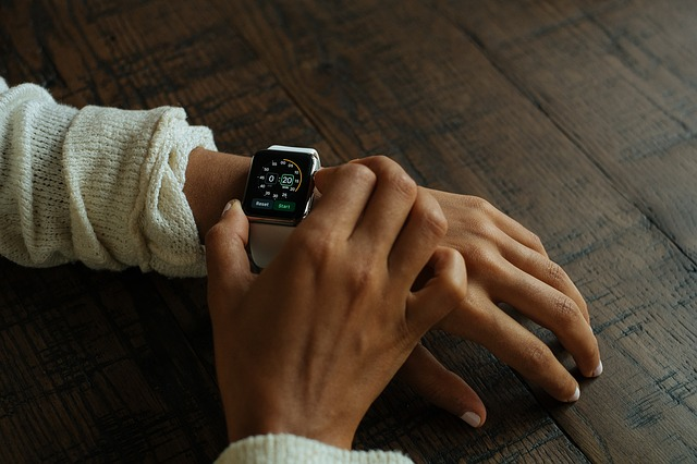 montre connecté technologie