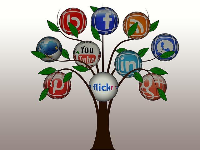 Réseaux sociaux arbre