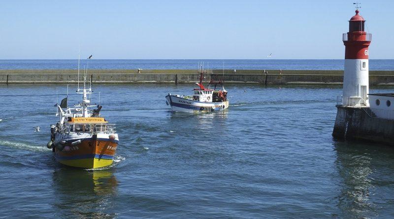 Le port de Guilvinec dans le Finistère